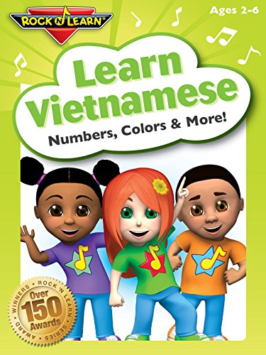 Learn Vietnamese - Numbers, Colors and More