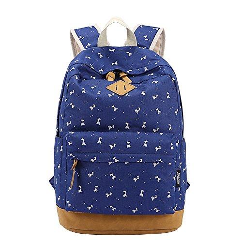 moollyfox-nina-dulce-linda-floral-del-estudiante-mochila-de-lona-bolsa-para-la-escuela-casual-la-bol