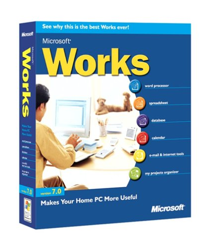 Microsoft Works 7.0 [Old Version]
