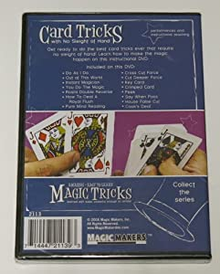 Amazing Easy to Learn Magic Tricks: Card Tricks with No Sleight of Hand DVD, Forcing a Card DVD, Money Magic DVD, Emerson and West's Hamman Eggs Packet Trick