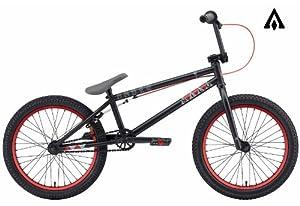 Amber Silo Matte Black BMX Bike