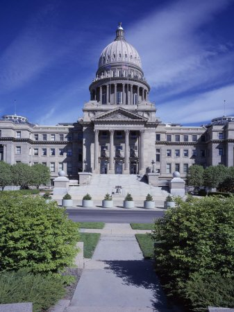 Capitol Building in Boise Idaho Photographic Poster