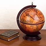 "Kassel 13"" Diameter Italian Replica Globe Bar - 330Mm Tabletop"