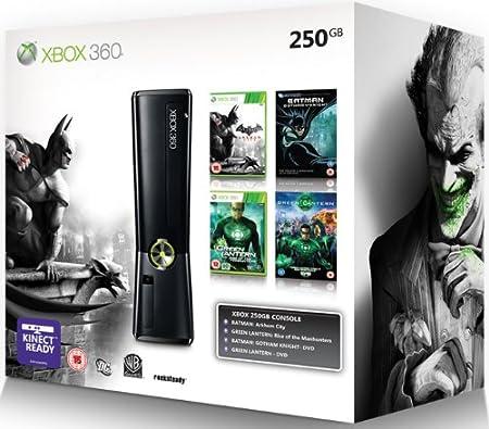 Xbox 360 250GB Console - Batman Arkham City Bundle