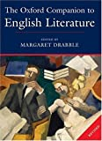 The Oxford Companion to English Literature (0198614535) by Drabble, Margaret