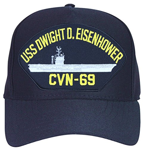 USS Dwight D. Eisenhower CVN-69 Ship Ball Cap (Uss Dwight D Eisenhower compare prices)