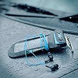 SP630:国際防水規格IPX8に準拠。防水ヘッドフォンとアームバンド付属のiPhone用防水ケース「Waterproof Music Sport Armband + headphone for iPhone」 [iPhone5 Xperia Galaxy 防水 ケース イヤホン]