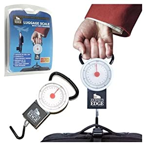Click to read our review of Luggage Scales: Luggage Scale with Tape Measure!