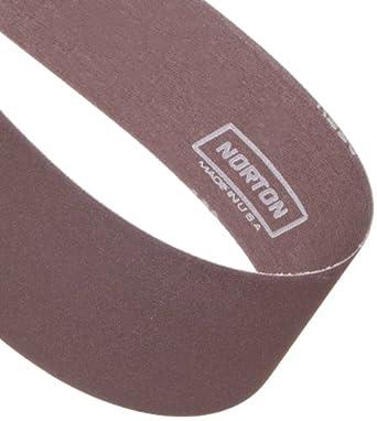 Norton Metalite R228 Backstand Abrasive Belt, Cotton Backing, Aluminum Oxide