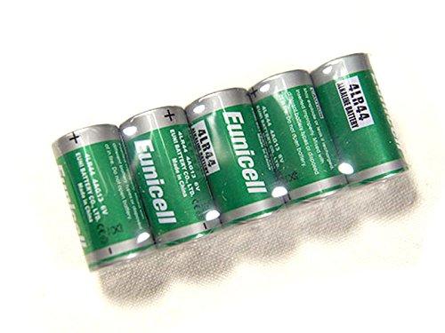 Lot de 5 Piles Alcaline 4LR44 6V Eunicell