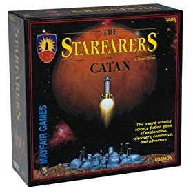 Settlers of Catan Starfarers expansion!