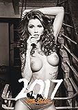 Live-Strip Pin-Up-Kalender 2017 - Hochwertiger DIN A3 Schwarz-Weiß Erotik-Kalender / Wand-Kalender / Akt-Kalender / Sexy Frauen