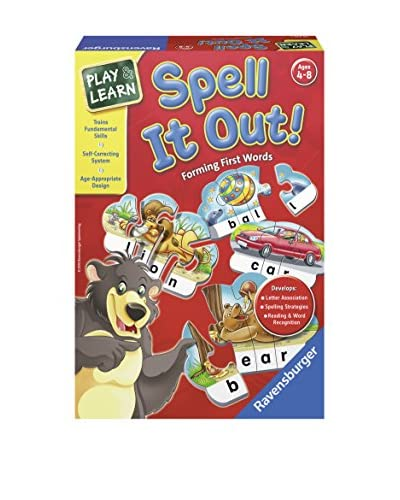 Ravensburger Spell It Out! - Forming First Words