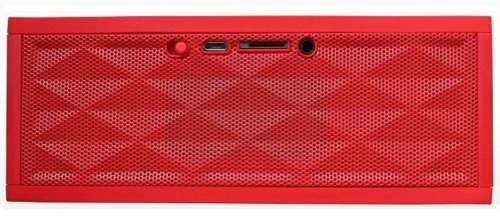 Fun ZipBox Wireless Rechargeable Bluetooth Portable Stereo Speaker (Red) Funzip Bluetooth Headsets autotags B00GSCIT52