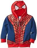 Marvel Boys' Spider-Man Fleece Masked Hoodie