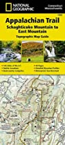 Appalachian Trail, Schaghticoke Mountain to East Mountain, Connecticut, Massachusetts (National Geographic Trails Illustrated Map)