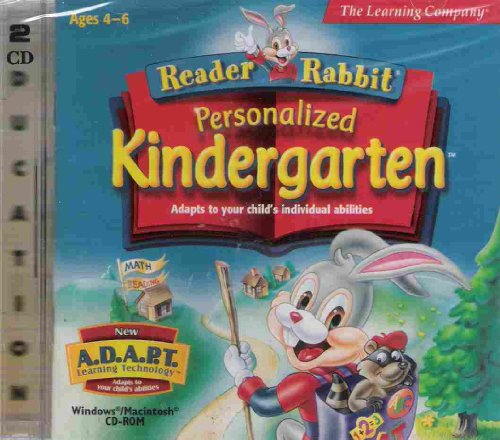 Reader Rabbit Personalized KindergartenB00029LOJK