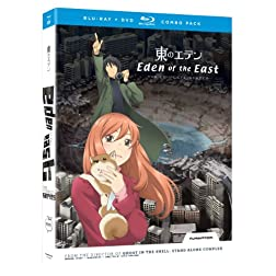 Eden of the East: Complete Series (Blu-ray/DVD Combo)