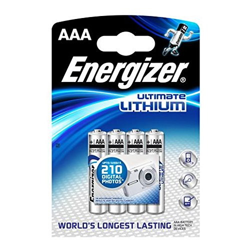 Energizer Piles AAA LR03 Ultimate/High Tech X 4
