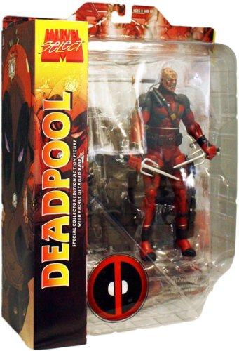 Marvel Select Action Figure Deadpool Unmasked Variant