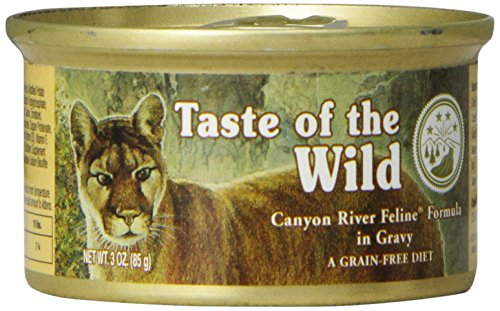 7442bebd6063 Taste Of The Wild Canyon River Feline Formula With Trout And Salmon In Gravy