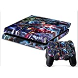 Avenger Full Body Decal Skin Sticker For Playstation 4 PS4 Console+Controller