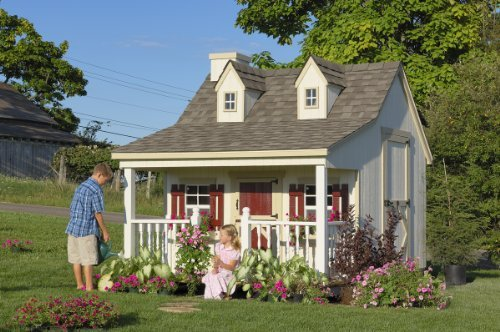 Little Cottage Company Pennfield DIY Playhouse Kit, 11' x 8'