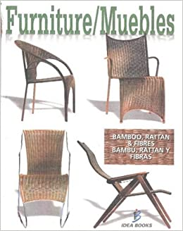 Muebles - Furniture: Bambu, Rattan (Spanish Edition