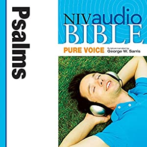 NIV Audio Bible, Pure Voice: Psalms Audiobook