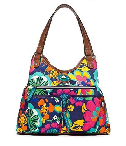 lily-bloom-gretta-four-poster-triple-section-large-satchel-floral-fiesta