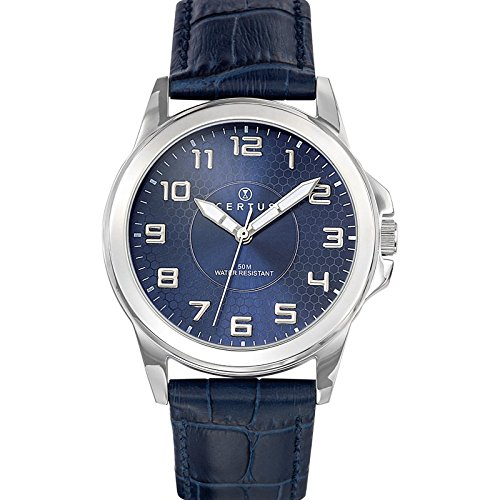 Certus Unisex Analogue Watch with Blue Dial Analogue Display - 610744