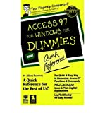 img - for [(Access 97 for Windows for Dummies Quick Reference )] [Author: Dummies Technology Press] [Jan-1997] book / textbook / text book