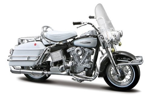 1966 Harley Davidson FLH Electra Glide Series 29 by Maisto - 1