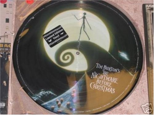 nightmare before christmas CD Covers