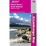 Strathnaver, Bettyhill and Tongue (Landranger Maps)