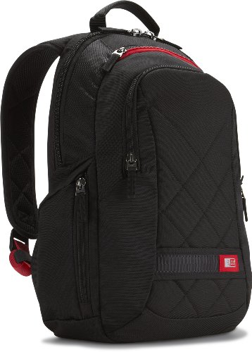 Case Logic DLBP-114 14-Inch Laptop /MacBook Air / Pro Retina Display Backpack (Black)