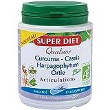 Super diet - Quatuor bio articulation - 150 gélules - Douleurs articulaires