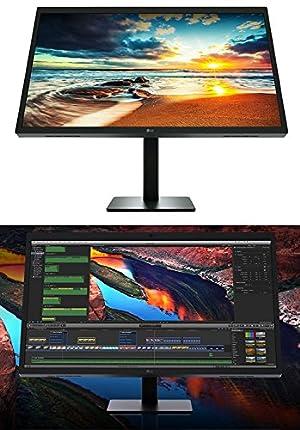 LG Ultra HD 5K UltraFine USB-C 5120x2880 27 IPS Monitor, Black (Certified Refurbished)