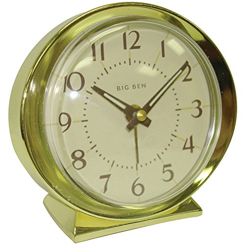 WESTCLOX 10605QA Battery-Powered Big Ben Alarm Clock (Corded Electric Clock compare prices)
