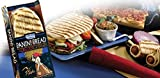 Kontos Flatbread, Grilled Panini Bread 4-Count, 12-Ounce Bag (Pack of 12)