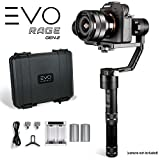 EVO Rage Gen2 3 Axis Gimbal for DSLR & Mirrorless Cameras - Stabilizer Works with Sony A7S II, Panasonic GH4 GH5, and most cameras 350g to 1800g   1 Year US Warranty & Support