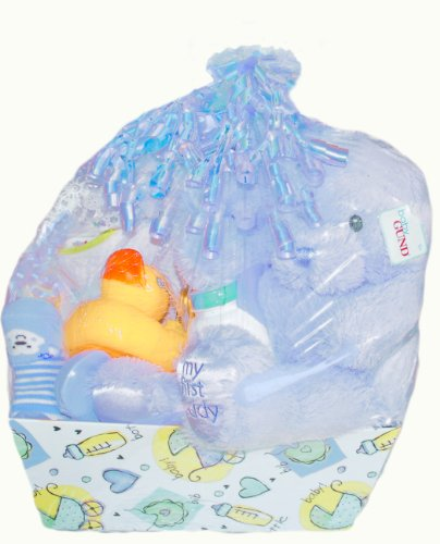 "For Sale Baby Boutique® ""Sleepy Time"" Boy's New Baby Gift Basket, Blue  Best Offer"