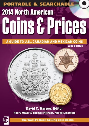 2014 North American Coins & Prices CD: A Guide to U.S, Canadian and Mexican Coins