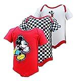 Disney Infant Boys Mickey Mouse 3 Piece Onsie Set