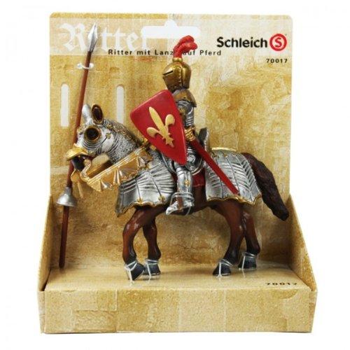 Schleich 70017 – Ritter mit Lanze und gepanzertem Pferd Kreuzzug Mittelalter NEU günstig kaufen