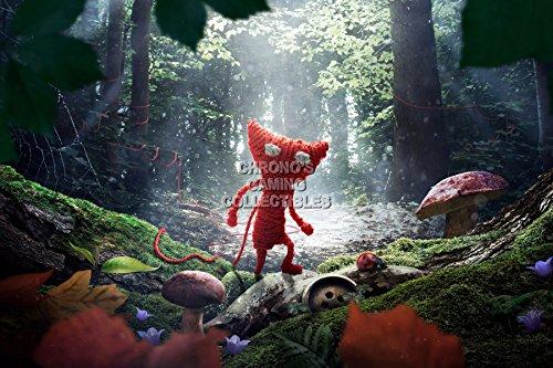 "CGC _Unravel Yarny Poster grande, per PS4, XBOX One EXT149 _, Carta, 24"" x 36"" (61cm x 91.5cm)"