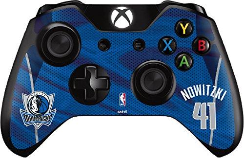 Dirk Nowitzki Dallas Mavericks Jersey - Skin For Xbox One - Controller