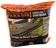 Quick Dam QD1224-6 Sandless Sandbags,…
