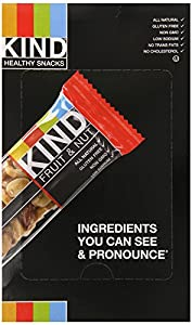 KIND Fruit & Nut, Variety Pack, 18-Count Bars