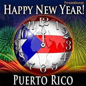 Amazon.com: Happy New Year Puerto Rico with Countdown and ...